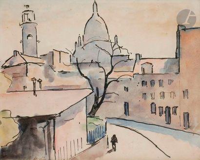 Maurice ASSELIN (1882-1947) Paris, Montmartre...