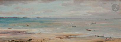 Louis Aston KNIGHT (1873-1948) Le Bassin...