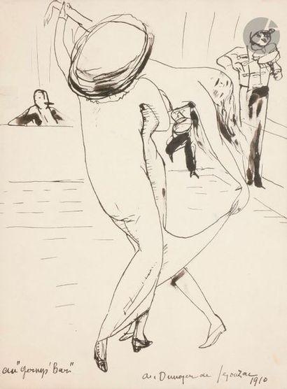 André DUNOYER de SEGONZAC (1884-1974) Au...