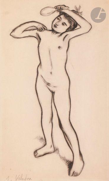 Suzanne VALADON (1865-1938) Jeune fille au...
