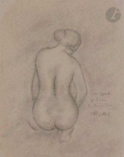 Aristide MAILLOL (1861-1944) Étude pour le...