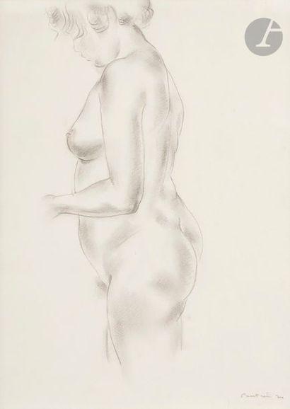 Jean FAUTRIER (1898-1964) Nu debout, 1924...