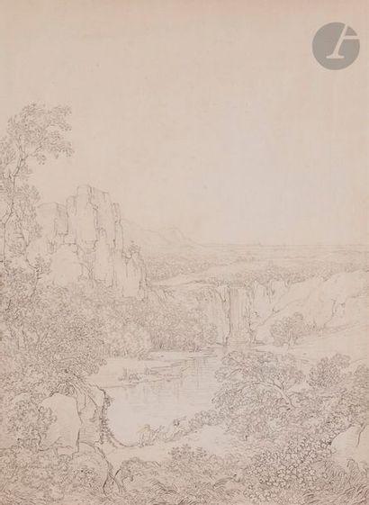 Attribué à Jacob Philipp HACKERT (1737-1830)...