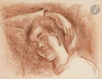 Amédée de LA PATELLIèRE (1890-1932) Femme...