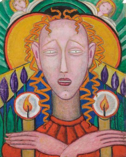 Marie VASSILIEFF (1884-1957) Saintes aux...