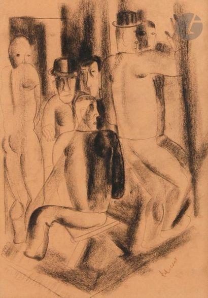 Pierre TAL-COAT (1905-1985) Au Cabaret, 1927...