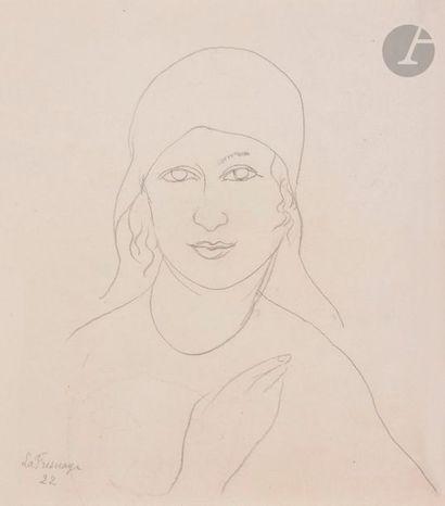 Roger de LA FRESNAYE (1885-1925) Portrait...