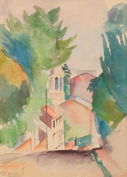 Jean-Hippolyte MARCHAND (1883-1940) Village...