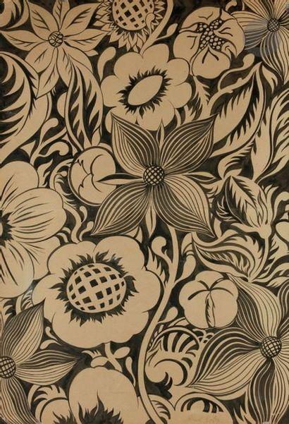 Raoul DUFY (1877-1953) Composition florale,...