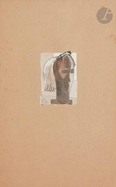 Gustave MIKLOS 1888-1967 Buste, vers 1935-1940...