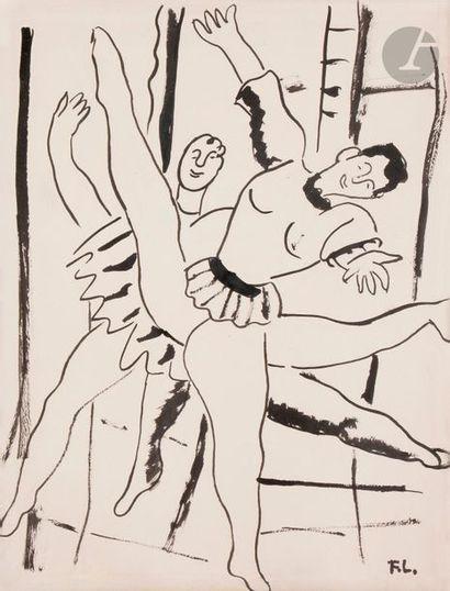 Fernand LÉGER (1881-1955) Etude pour la ville...
