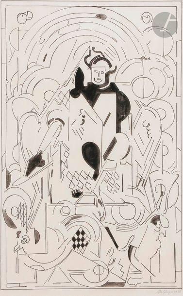 Albert GLEIZES (1881-1953) Composition projet...