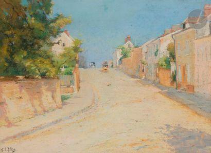 Eugène Louis GILLOT (1868-1925) Route de...