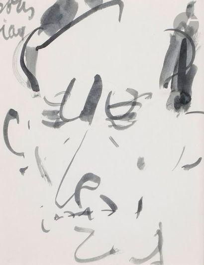 GEN-PAUL (1895-1975) Portrait de Boris Vian...