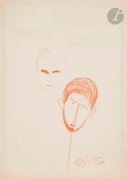 Jean-Gabriel DOMERGUE (1889-1962) Caricatures...