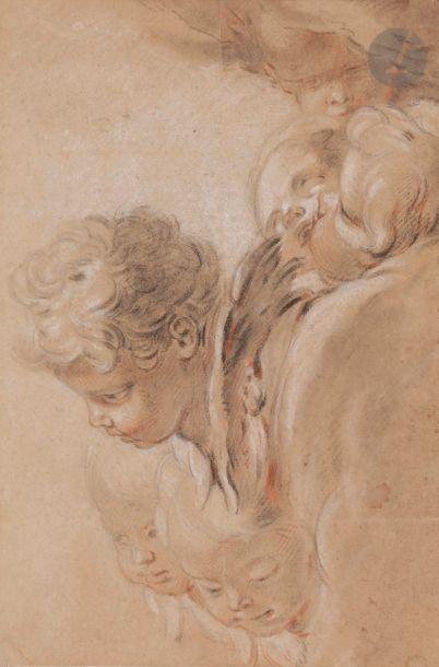 Atelier de François BOUCHER (1703-1770) étude...