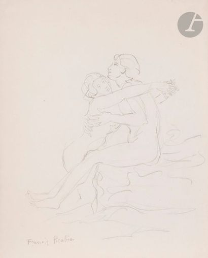 Francis PICABIA (1879-1953) Couple, vers...