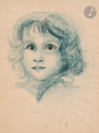 Léonor FINI (1908-1996) Portrait de Nicolas...