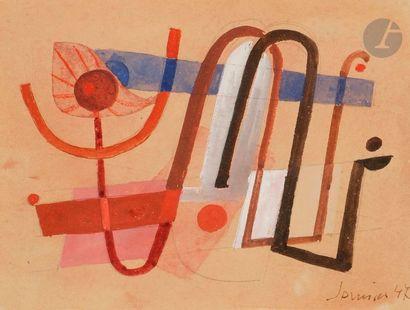 Ferdinand SPRINGER (1907-1998) Composition,...