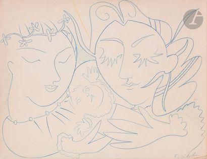 Françoise GILOT (née en 1921) Bienvenue à...