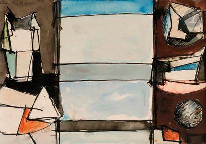 Jean HÉLION (1904-1987) Composition, 1938...