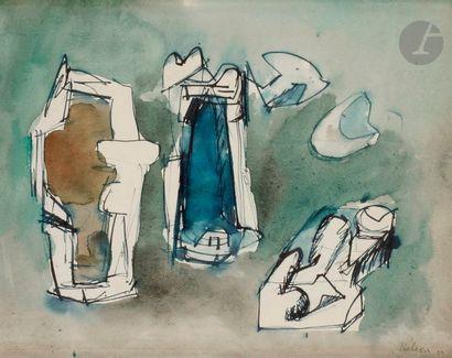 Jean HÉLION (1904-1987) Composition, 1939...