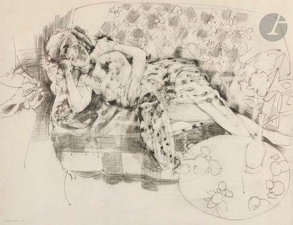 Raymond LEGUEULT (1898-1971) Jeune femme...