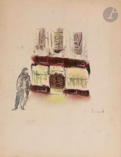 Christian BÉRARD (1902-1949) Bal musette...