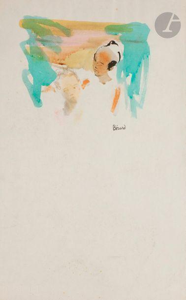 Christian BÉRARD (1902-1949) Homme et visage...