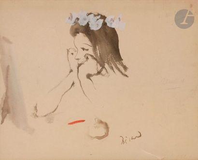 Christian BÉRARD (1902-1949) Jeune fille...