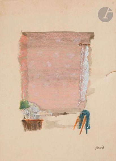 Christian BÉRARD (1902-1949) La Fenêtre Aquarelle...