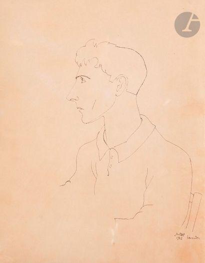 Jean COCTEAU (1889-1963) Autoportrait, Le...