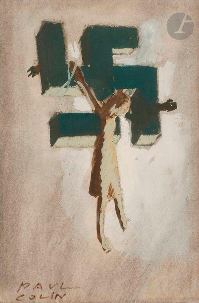 Paul COLIN (1892-1985) Étude pour l'affiche...
