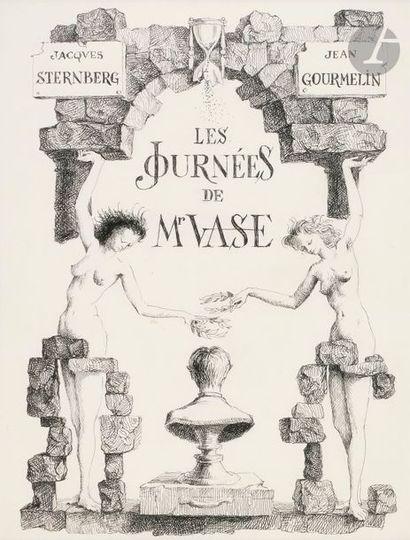 Jean GOURMELIN (né en 1920) Les Journées...