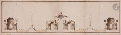 B.M. HAZON (actif au XVIIIe siècle) Projet...