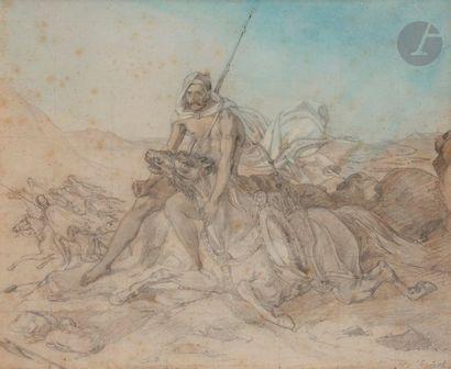 Attribué à Horace VERNET (Paris 1789 - 1863)...