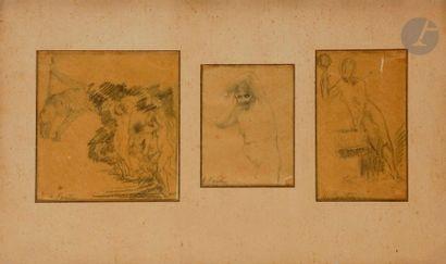 Henri FANTIN-LATOUR (1836-1904) études de...