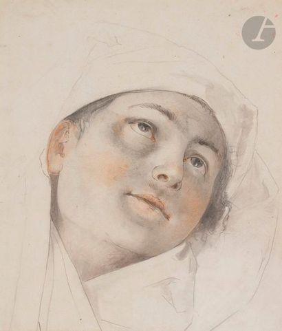 École FRANÇAISE du XIXe siècle Portrait au...