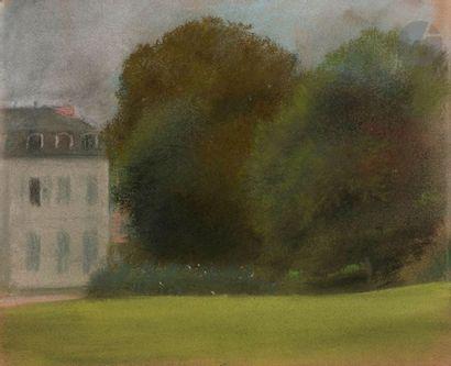 Edgar DEGAS (1834-1917) Château de Ménil-Hubert-en-Exmes...