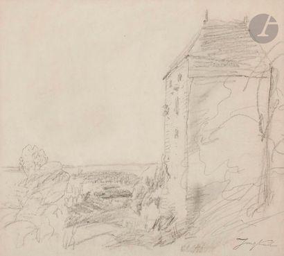 Johan-Barthold JONGKIND (1819-1891) La Tour...