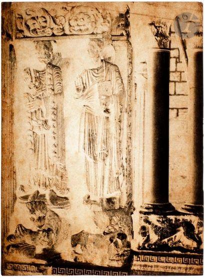 Charles Nègre (1820-1880) Église abbatiale...