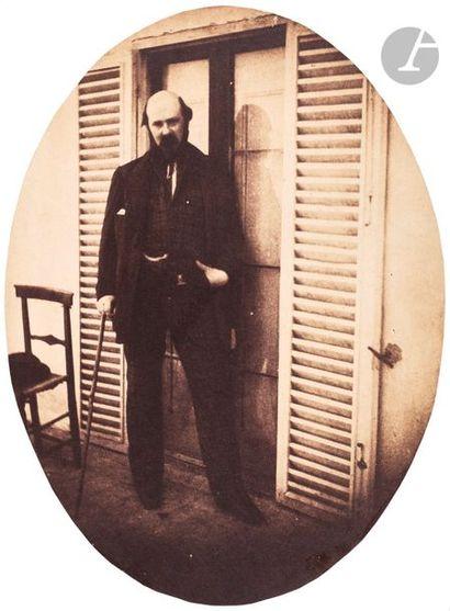 Charles Nègre (1820-1880) Portrait d'homme...
