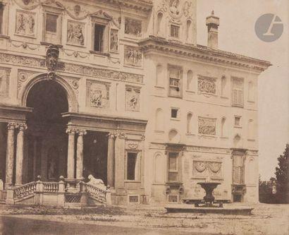 Alfred-Nicolas Normand (1822-1909) Rome,...