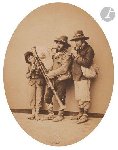 Gustave Le Gray (1820-1884) Pifferari, c....