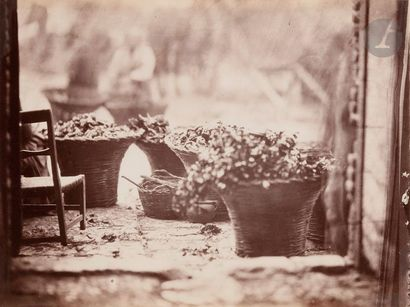 Edmond Lebel (1834-1908) San Gimignano, c....