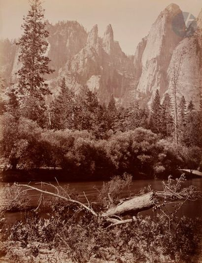 Houseworth & Co Yosemite, 1872. Cathedral...