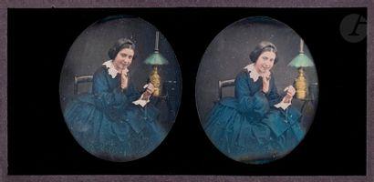 Daguerréotypiste non identifié Jeune fille...