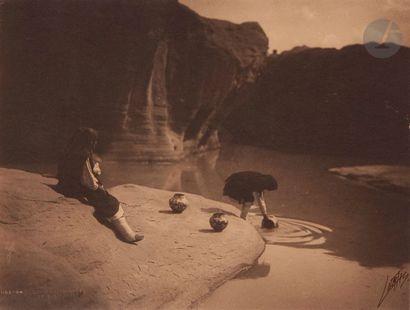 Edward Sherrif Curtis (1868-1952) At the...