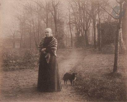 Léonard Misonne (1870-1943) La mère du photographe,...