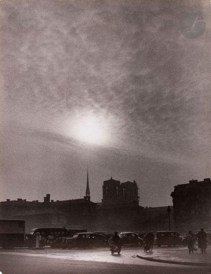 Édith Gérin (1910-1997) Notre-Dame de Paris,...